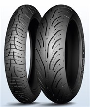 Michelin Pilot Road 4 GT 190/50R17 73 W Rear