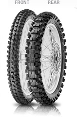 Pirelli Scorpion MX Hard 486 80/100-21 51 M Front TT